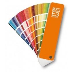 RAL E3 spalvų paletė