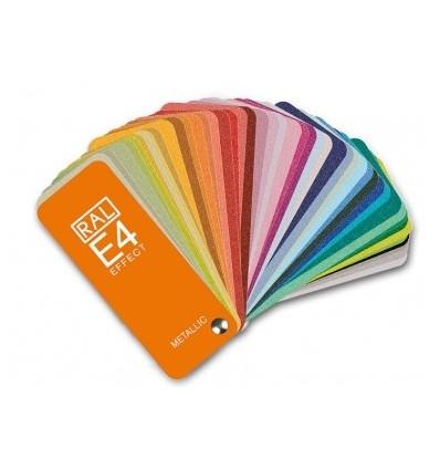 RAL E4 spalvų paletė
