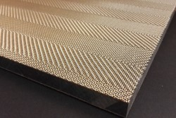 Metalo tinklas medienos plokštėje TTM Rossi Metal Veneer
